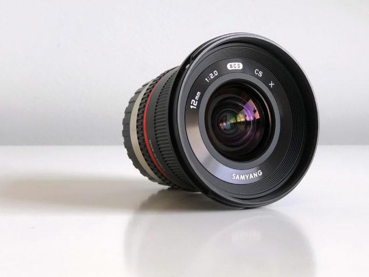 Rokinon/Samyang 12mm f/2.0