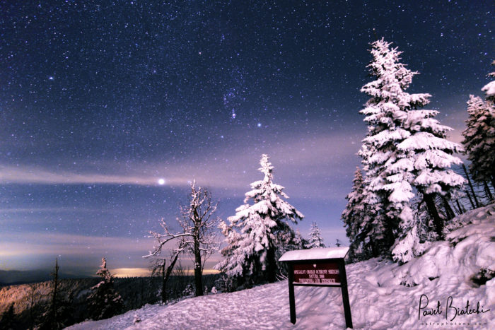 Winter Astrophotography.
