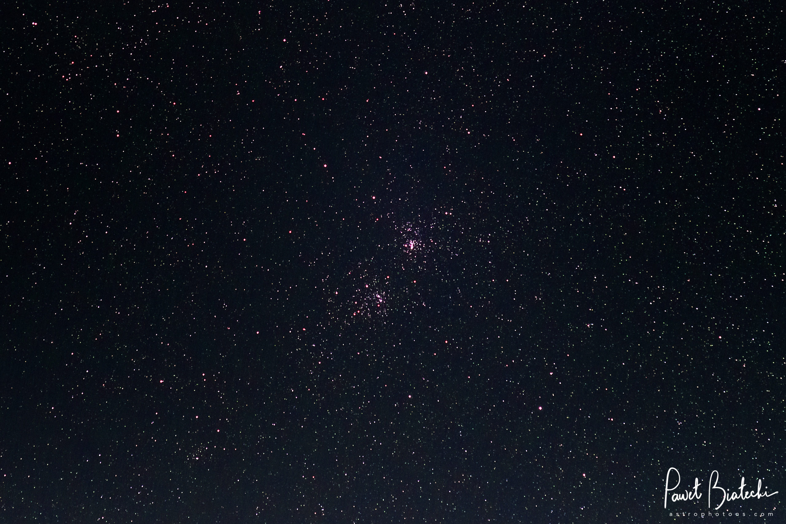 Double Cluster (NGC 869 and NGC 884, Caldwell 14)