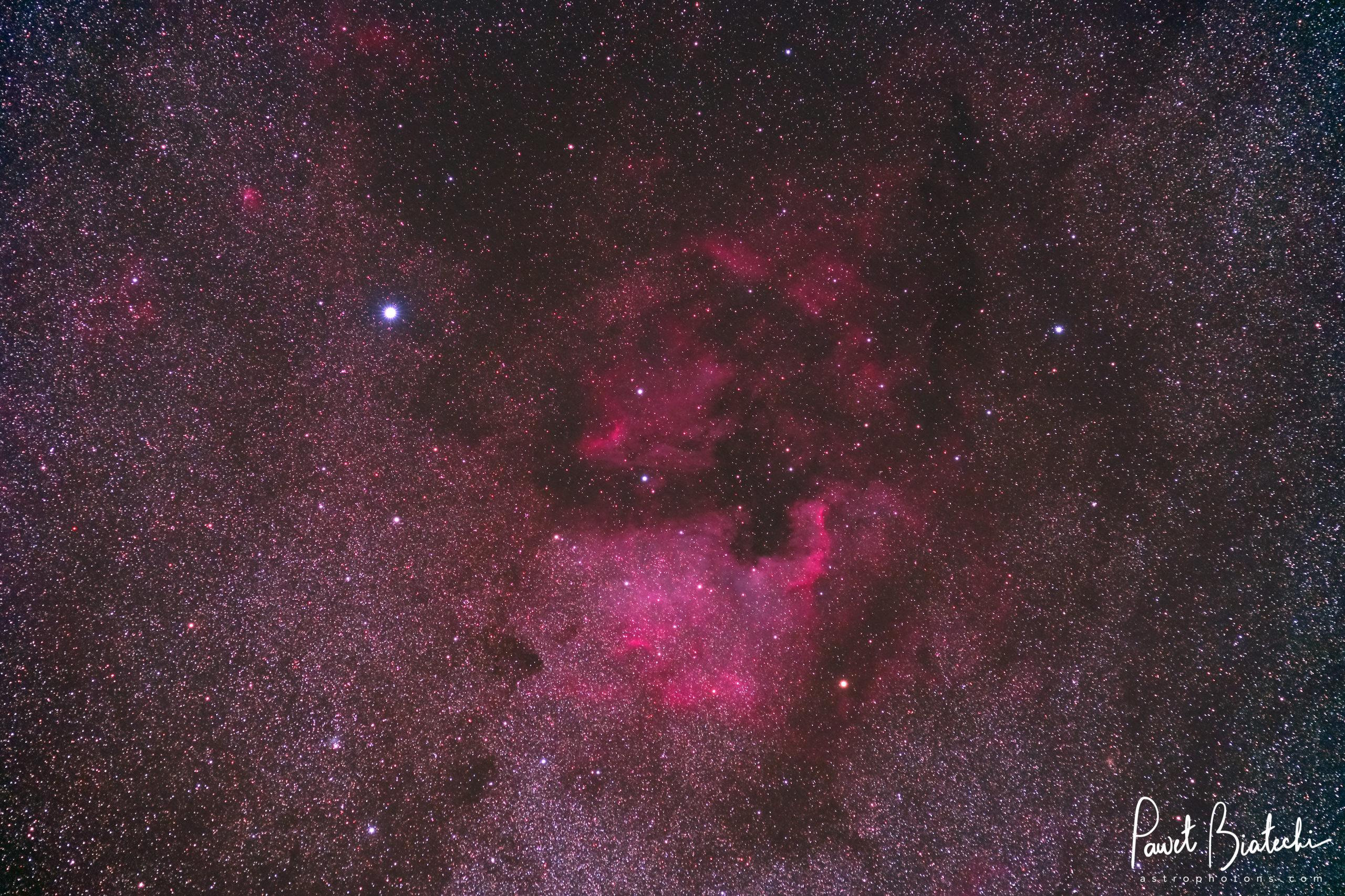Astrophotography - North America Nebula (NGC 7000, Caldwell 20)