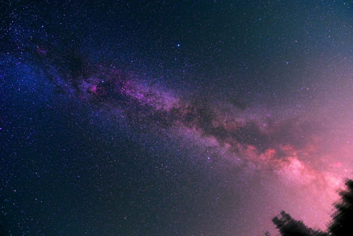 Summer Milky Way in Smedava
