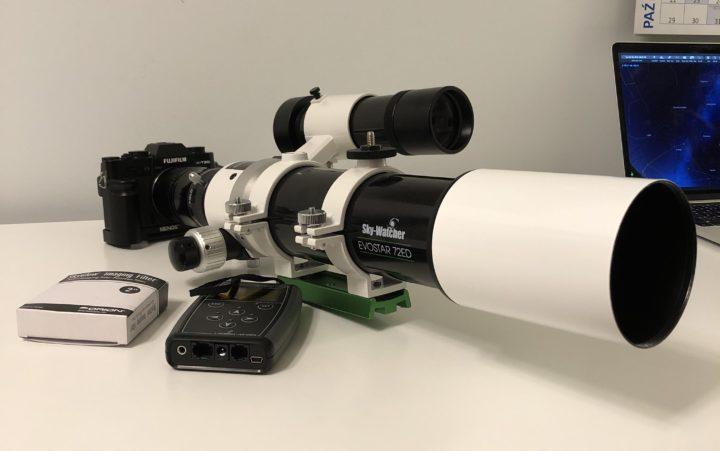 SkyWatcher Evostar 72ED - the true friend of a beginner astrophotographer