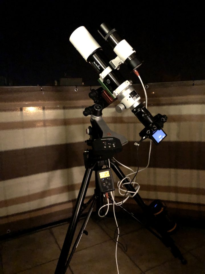 Advanced astrophotography setup