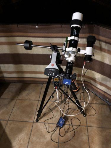 My astrophotography equipment