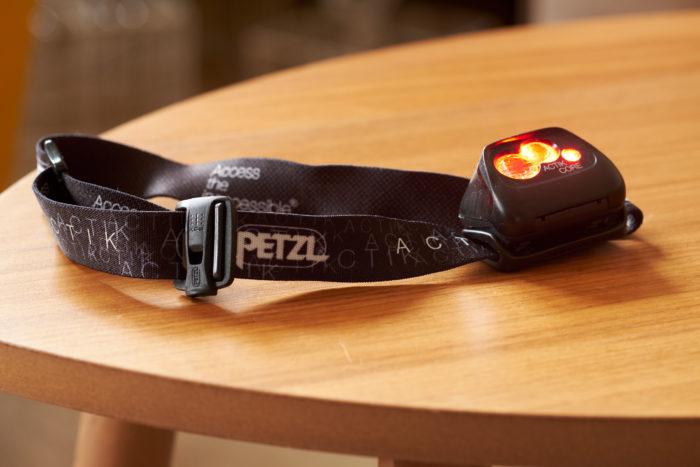 Petzl ACTIC CORE red light