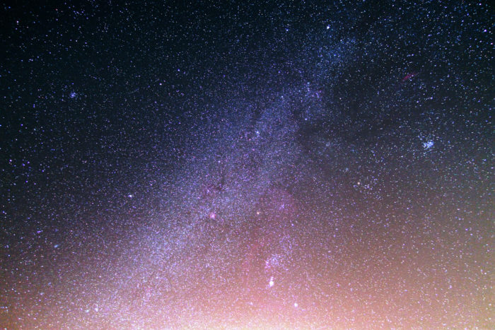Milky Way Raw File Download