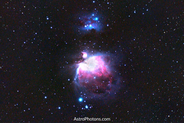 Orion Nebula, the king of Winter astrophotography targets