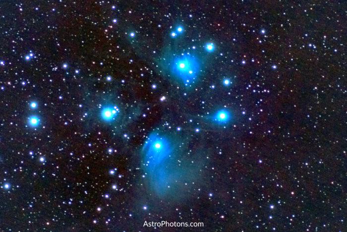 Pleiades Star Cluster (Seven Sisters, Subaru)