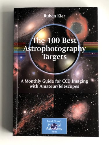 The 100 Best Astrophotography Targets by Ruben Kier book