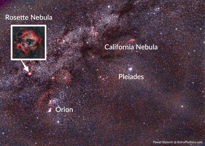 How to find the Rosette Nebula.