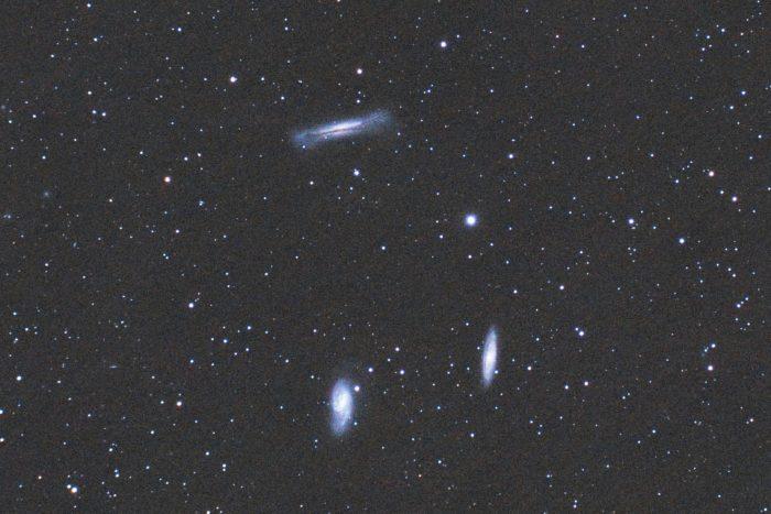 Leo Triplet, a popular Spring astrophotography target.
