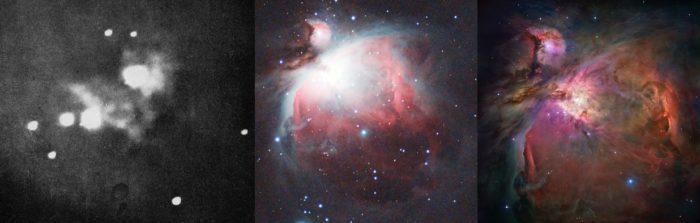 Orion Nebula astrophotography history.
