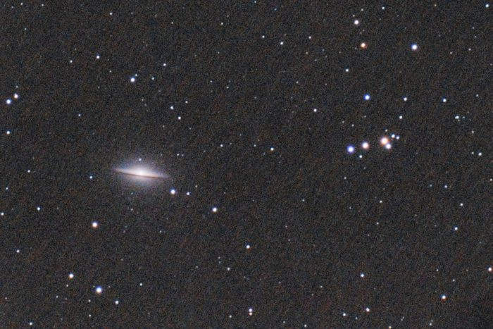Sombrero Galaxy (Messier 104), fantastic astrophotography target to shoot at Spring - April, May, or June.