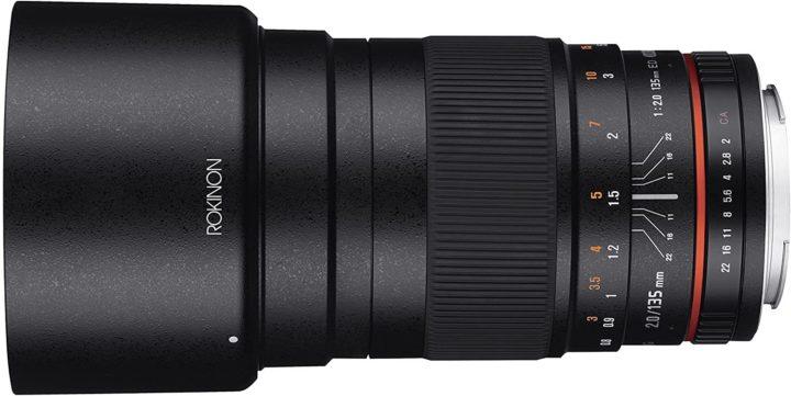 Rokinon/Samyang 135mm f/2.0 telephoto lens - fantastic beginner astrophotography telescope