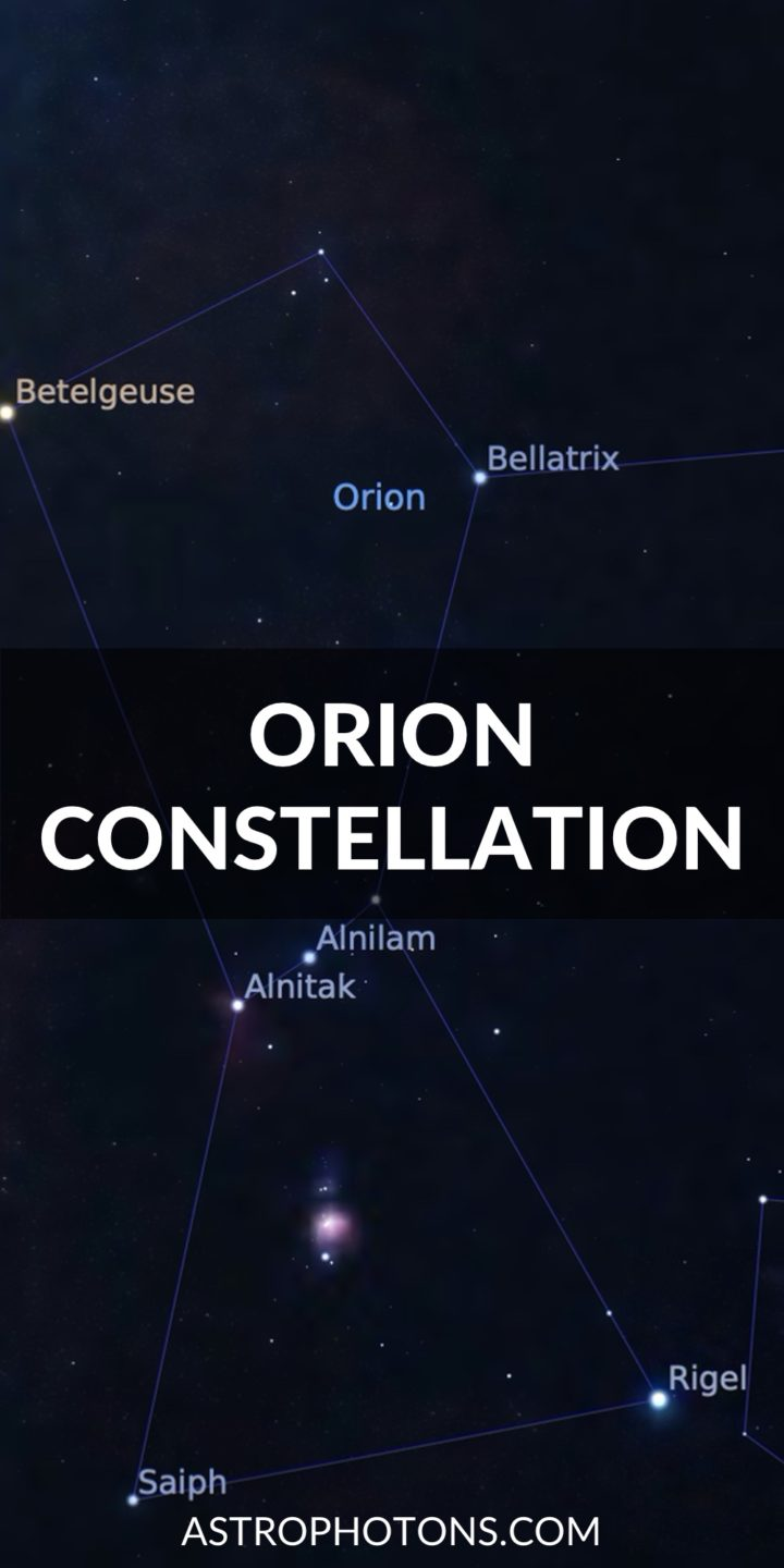 Orion Constellation Guide