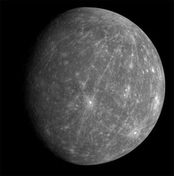 Mercury - first in the planets order